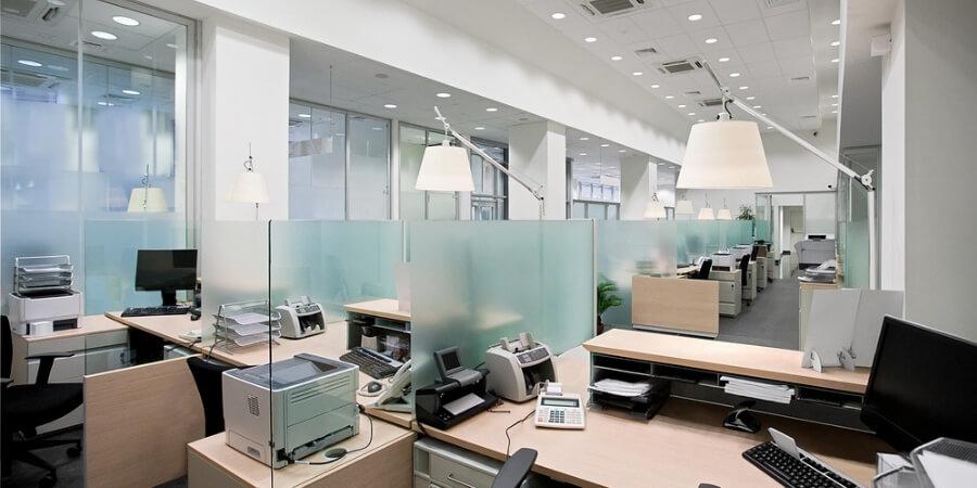 office lighting ideas layering light