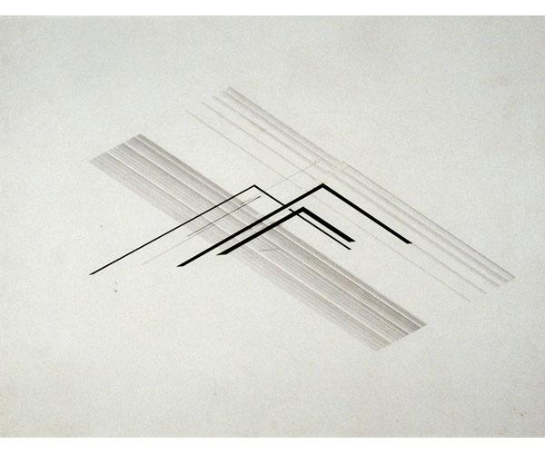 Nasreen Mohamedi - Lines among lines - The Lighting Mind