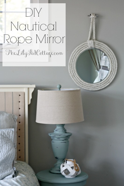 Nautical Rope Mirrors The Lilypad Cottage
