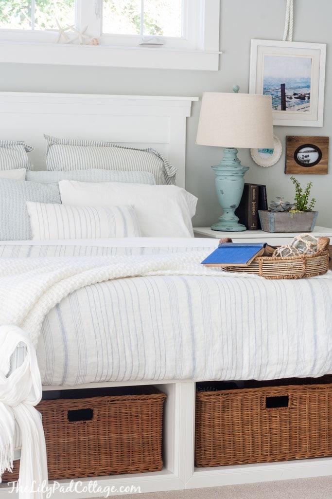 Master Bedroom Bedding - The Lilypad Cottage on Master Bedroom Ideas  id=25899