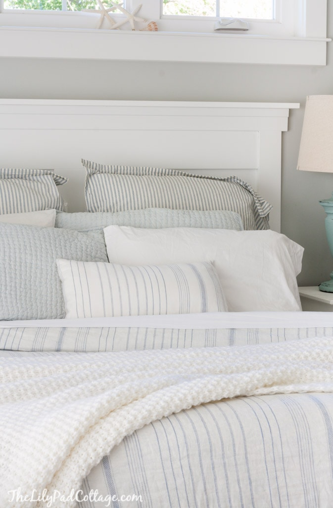 Master Bedroom Bedding - The Lilypad Cottage on Master Bedroom Ideas  id=80466