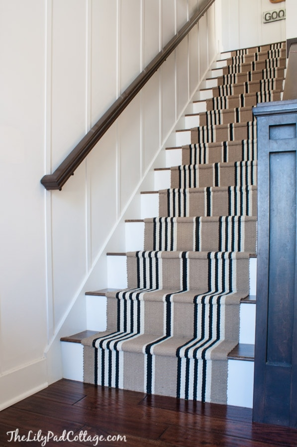 Stairway Makeover Swapping Carpet For Laminate The Lilypad Cottage | Good Carpet For Stairs | Treads Windy Stair | American Style | Stair Railing | Beautiful | Runner