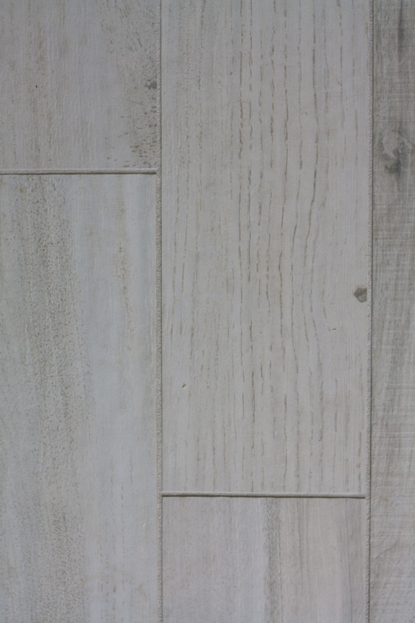 white washed faux wood tile the