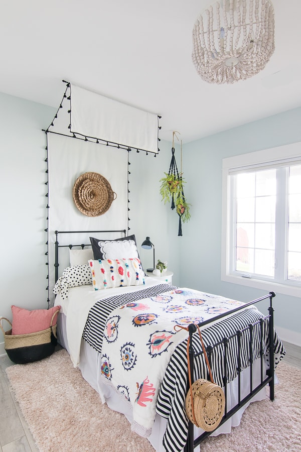 Tween Girl Beachy Boho Bedroom - The Lilypad Cottage on Boho Bedroom  id=20426