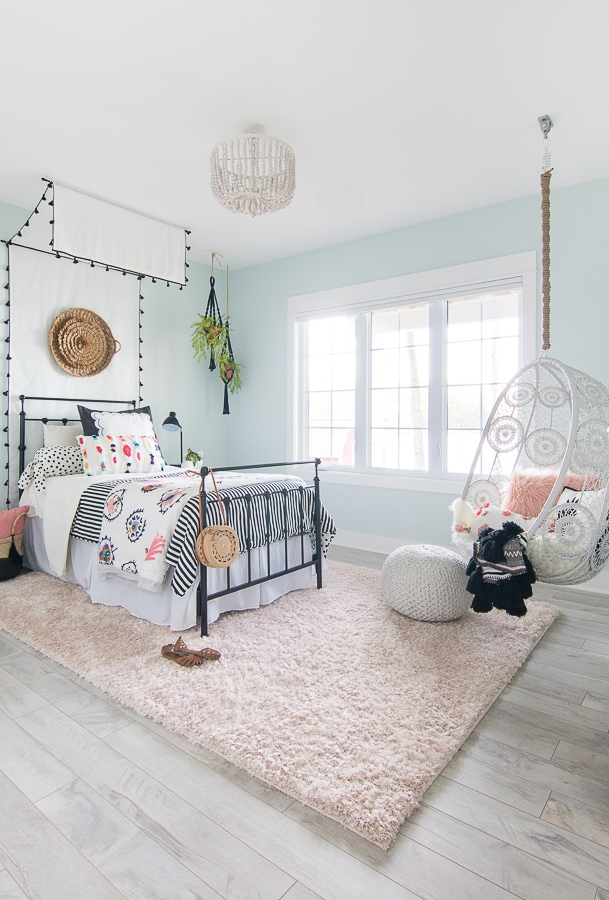 Tween Girl Beachy Boho Bedroom - The Lilypad Cottage on Beautiful:9Ekmjwucuyu= Girls Room Decoration  id=27136