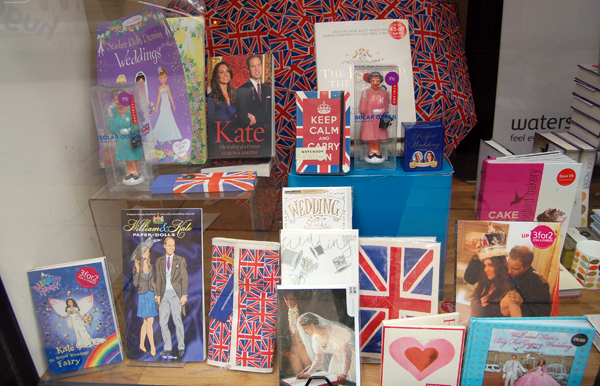 Waterstones Royal Wedding Products