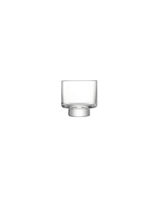 square glass tumbler