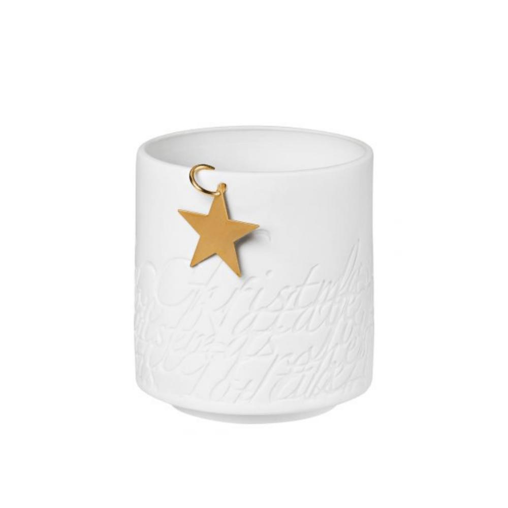 porcelain tea light holder