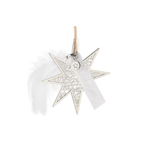 christmas silver star