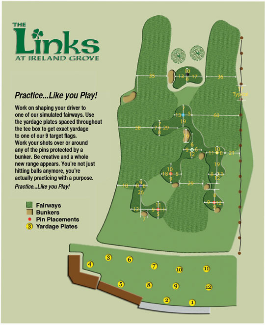 Driving Range Layout