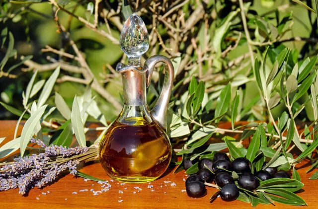 olive oil - source of fats