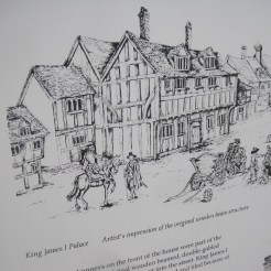 Artists Impression on the Old Palace