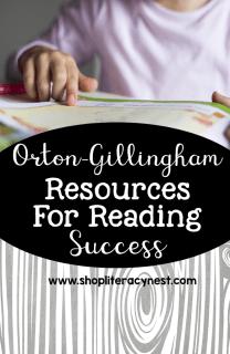 orton-gillingham resources