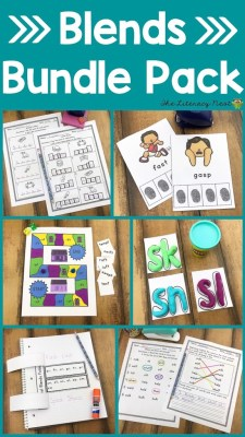 Consonant Blends activities