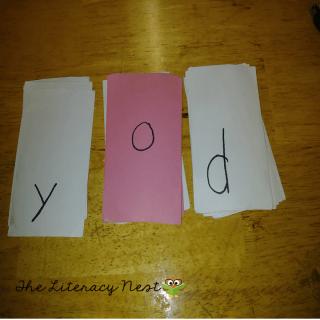 Orton-Gillingham lesson plan ideas