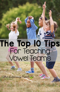 how to teach vowel teams