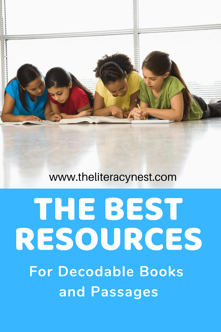It is a photo of Printable Decodable Books for First Grade for emergent readers