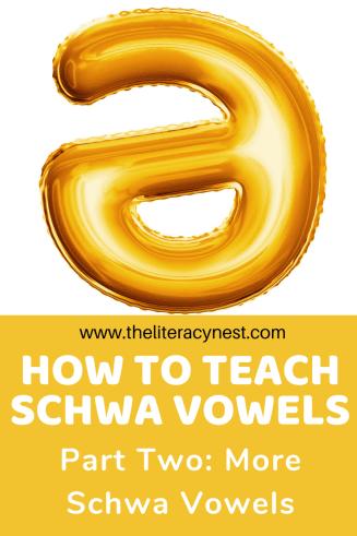 schwa vowels