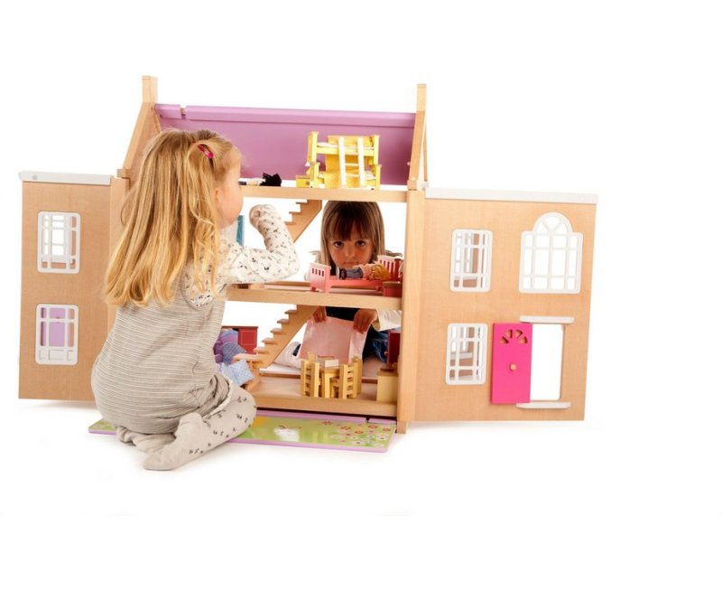 Tidlo Wooden Tidlington Dolls House
