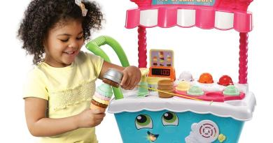 New – LeapFrog Scoop and Learn Ice Cream Cart