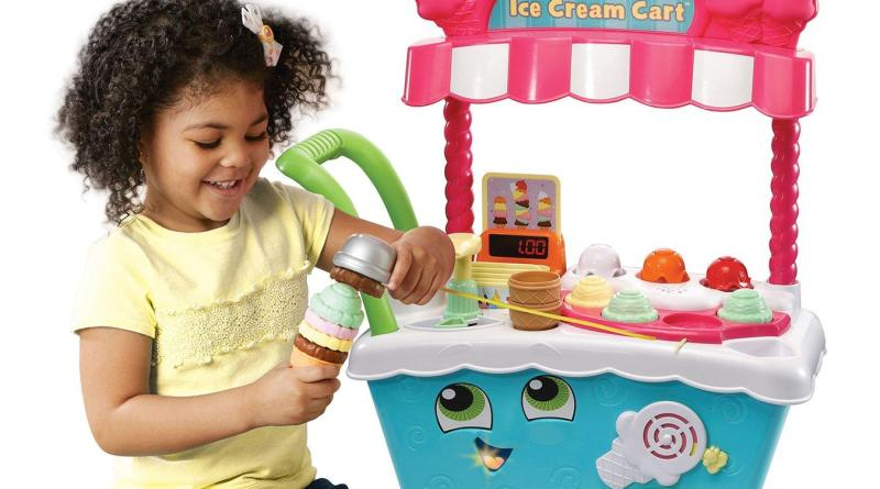 new leapfrog scoop and learn ice cream cart the little. Black Bedroom Furniture Sets. Home Design Ideas