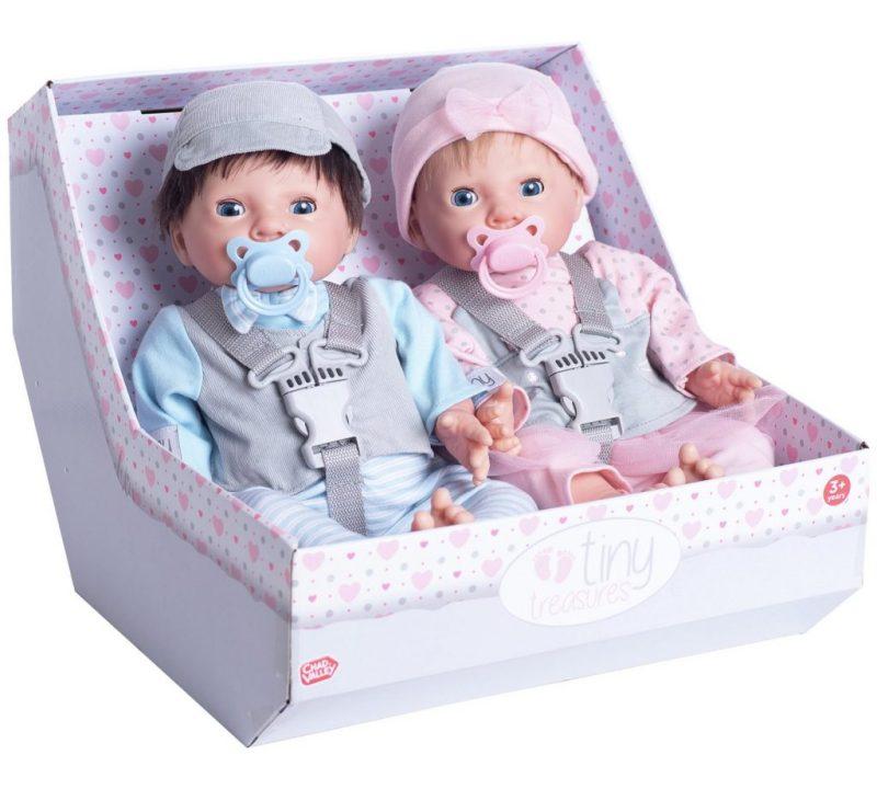 Baby Doll Tiny Treasure Twins