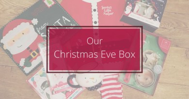 Our Christmas Eve Box