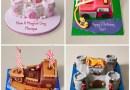 Birthday Cakes @ M&S
