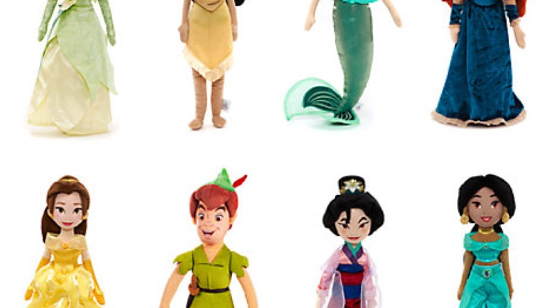 Selected Soft Toy Dolls Now £10 @ The Disney Store