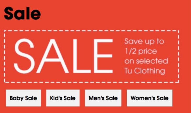 tu clothing sale dates  the little bargain hunter