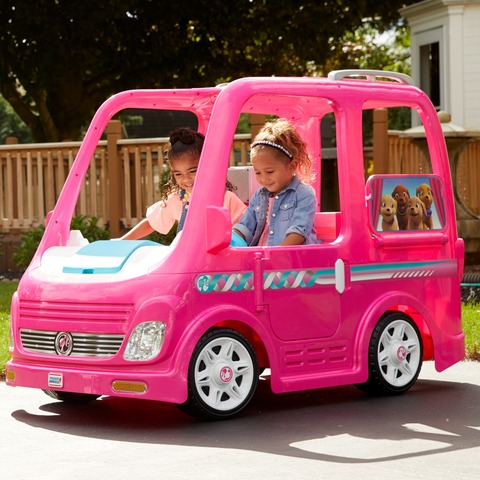 Barbie Power Wheels Dream Camper