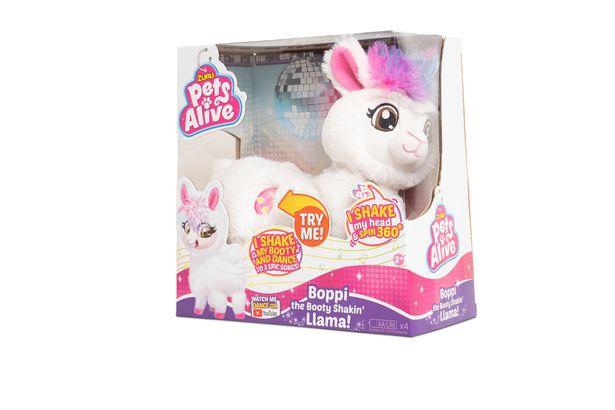 Pets Alive Robotic Llama - Boppi