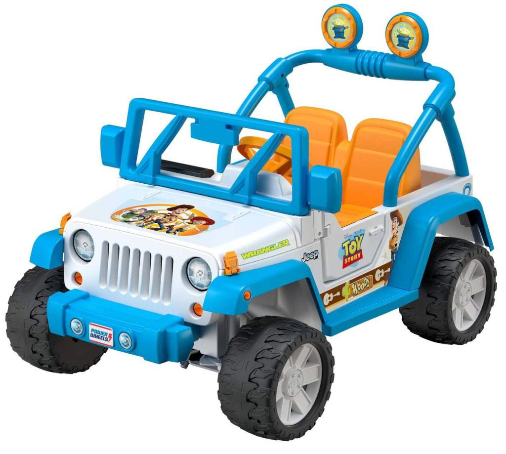 Toy Story Jeep Wrangler
