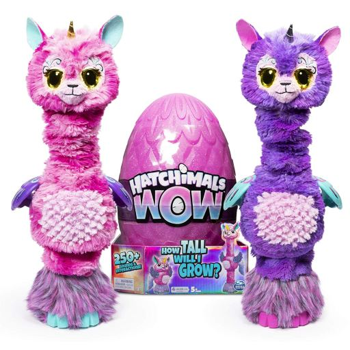 Hatchimals Wow Llalacorn both colours