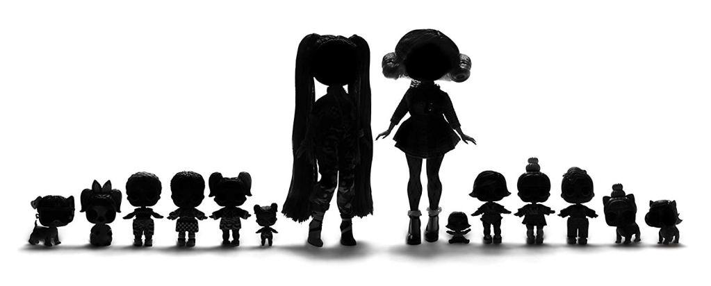 LOL Surprise Amazing Surprise silhouette