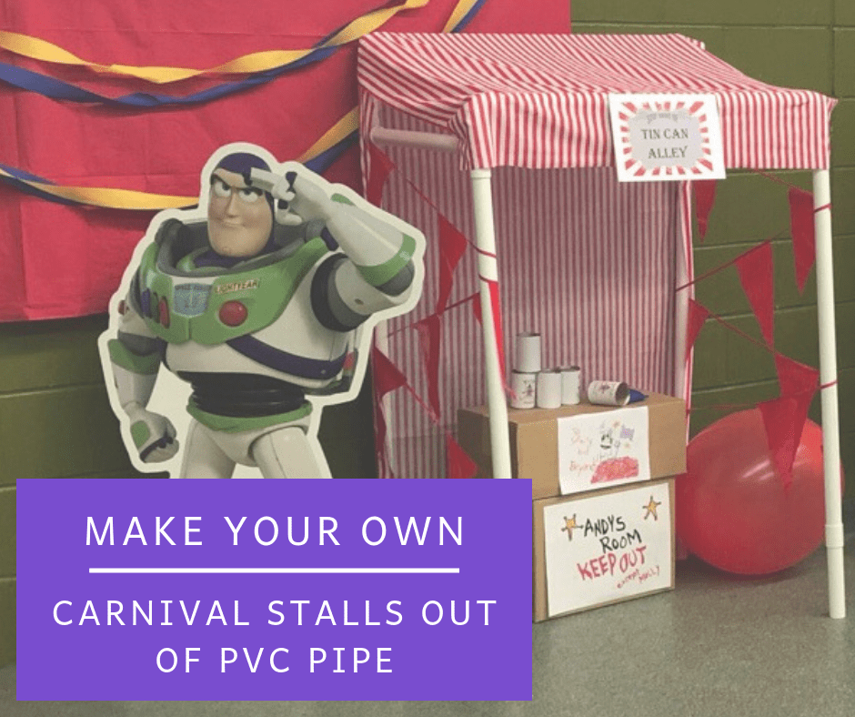 Make Your Own Carnival Stalls From PVC Pipe