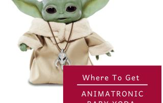 Animatronic Baby Yoda