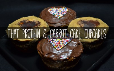 that protein Carrot Cupcakes