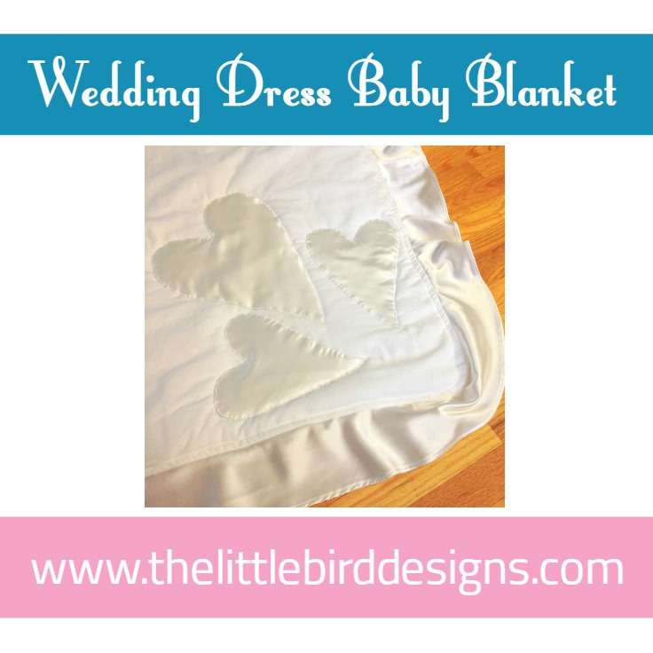 "The ""Wedding Dress"" Baby Blanket"