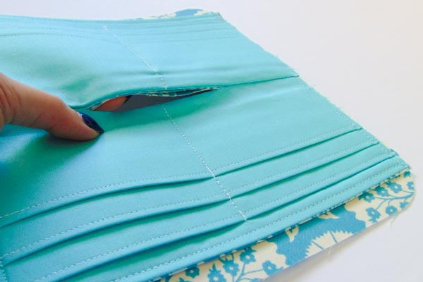 Zippered Necessary Clutch Wallet Tutorial: Part 2