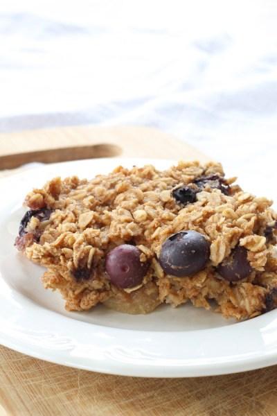 Blueberry Baked Oatmeal