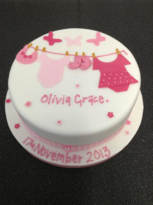 Christening Amp Baby Shower Cakes In Leeds The Little Cake