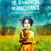 "Vocisconnesse at Diramazioni - Poster illustration for the french theatre Festival ""Le Chainon Manquant"""
