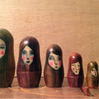 Nesting Dolls by Johanna Velasco