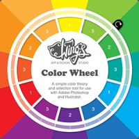 Wing's Color Wheel - A Design Tool for Photoshop and Illustrator
