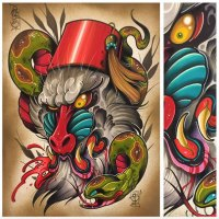 David Tevenal - Tattoo Artist