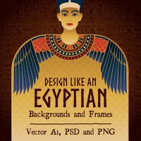 Design like an Egyptian, Photoshop & Illustrator Tools