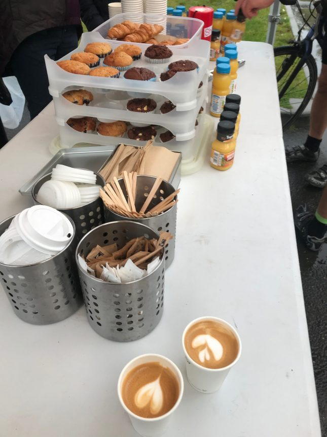Hire Barista Coffee & Breakfast Service