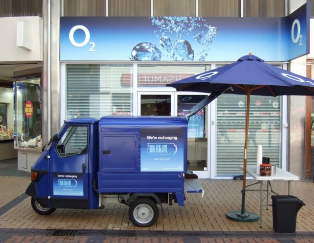 Branded Coffee Van for Events