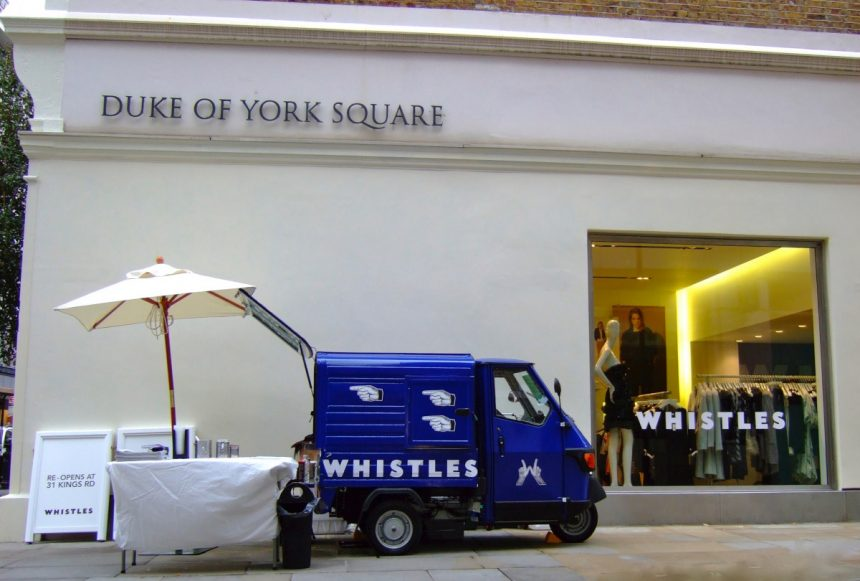 Branded Coffee Van for Shop Promotion